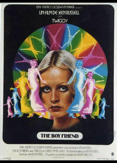 BOY FRIEND (THE) movie poster