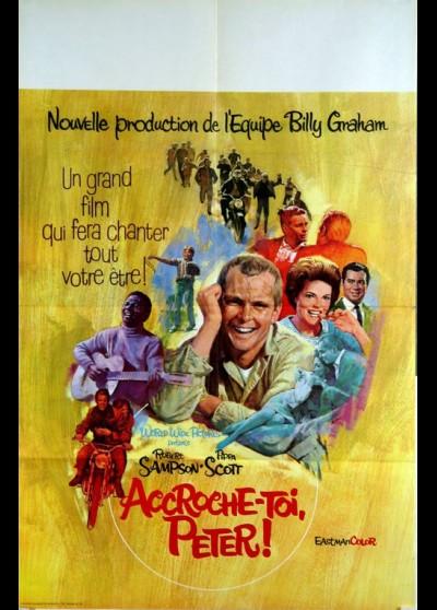 affiche du film ACCROCHE TOI PETER