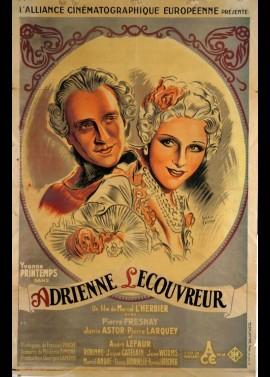 affiche du film ADRIENNE LECOUVREUR