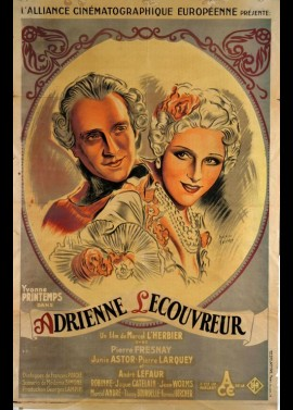 ADRIENNE LECOUVREUR movie poster