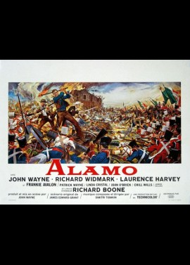 ALAMO (THE) movie poster