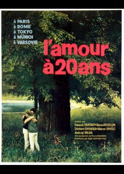 AMOUR A VINGT ANS (L') movie poster