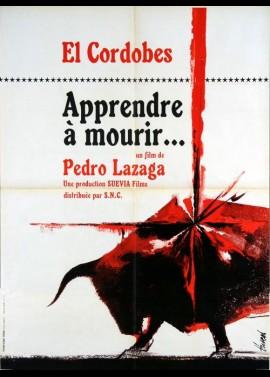 affiche du film APPRENDRE A MOURIR