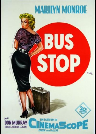 BUS STOP movie poster
