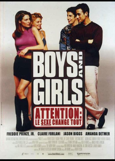 BOYS AND GIRLS movie poster
