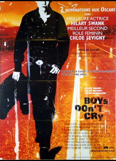 affiche du film BOYS DON'T CRY