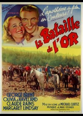 affiche du film BATAILLE DE L'OR (LA)
