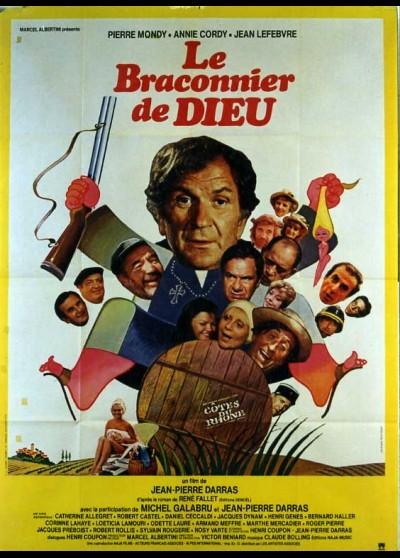 affiche du film BRACONNIER DE DIEU (LE)