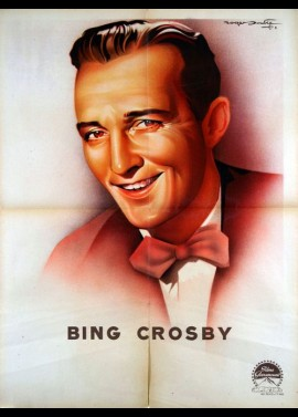 affiche du film BING CROSBY