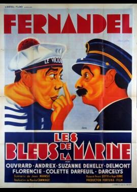affiche du film BLEUS DE LA MARINE (LES)