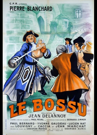 affiche du film BOSSU (LE)