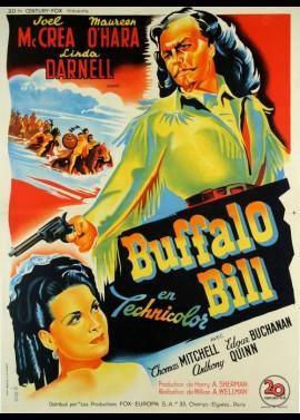 affiche du film BUFFALO BILL
