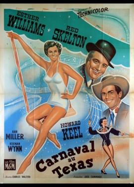 affiche du film CARNAVAL AU TEXAS