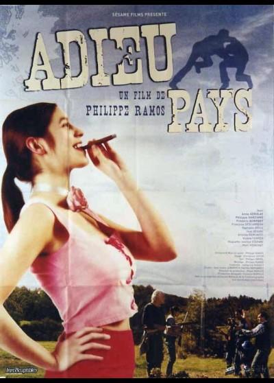 affiche du film ADIEU PAYS