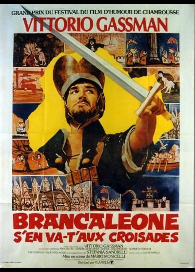 affiche du film BRANCALEONE S'EN VA T'AUX CROISADES