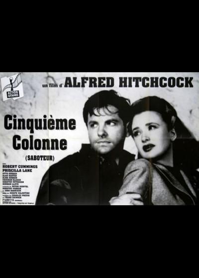 affiche du film CINQUIEME COLONNE