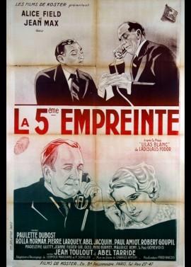 affiche du film CINQUIEME EMPREINTE (LA)