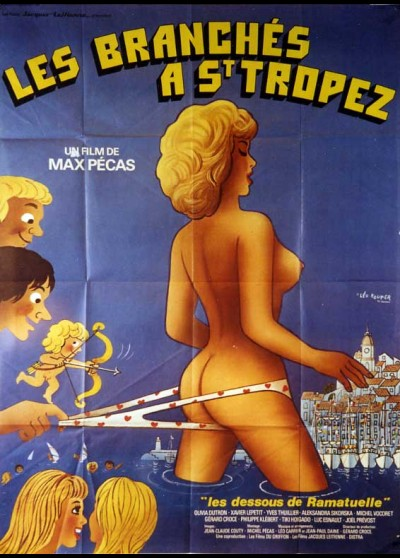 affiche du film BRANCHES A SAINT TROPEZ (LES)