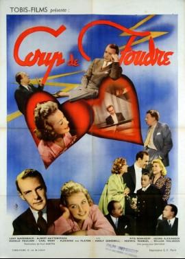 affiche du film COUP DE FOUDRE