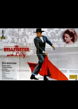 BULLFIGHTER AND THE LADY (THE) movie poster