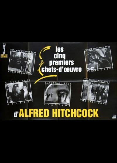 affiche du film FESTIVAL ALFRED HITCHCOCK