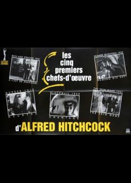 CINQ PREMIERS CHEFS D'OEUVRE D'ALFRED HITCHCOCK (LES) / A L'EST DE SHANGHAI / NUMERO 17 / MEURTRE / CHANTAGE / SKIN GAME movie p