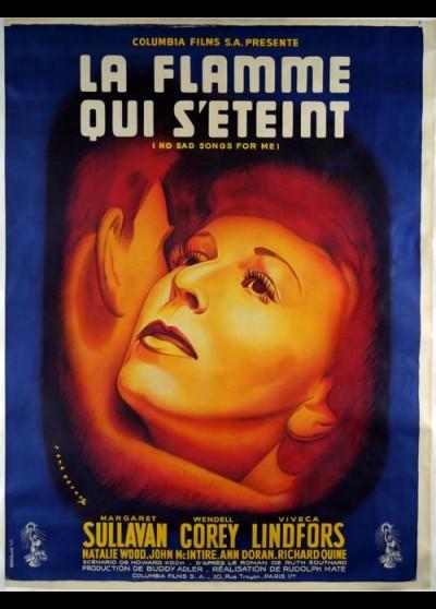 affiche du film FLAMME QUI S'ETEINT (LA)