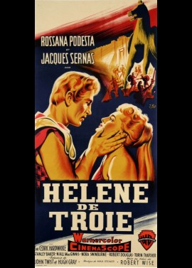 affiche du film HELENE DE TROIE