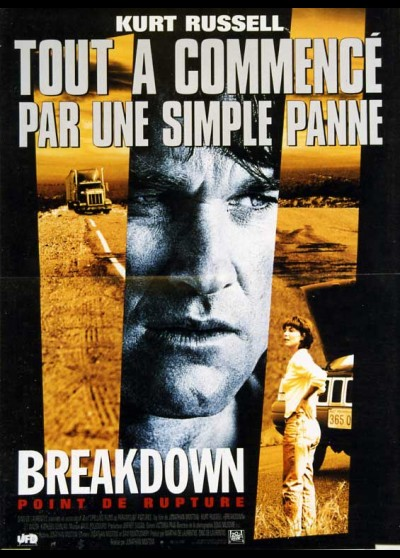 affiche du film BREAKDOWN POINT DE RUPTURE