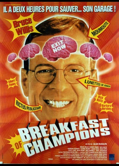 affiche du film BREAKFAST OF CHAMPIONS