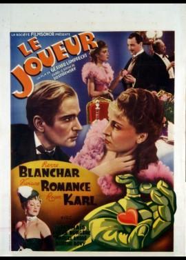 affiche du film JOUEUR (LE)