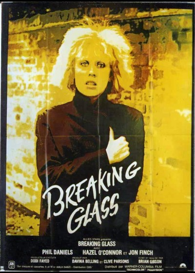 BREAKING GLASS movie poster