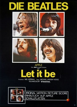 affiche du film LET IT BE