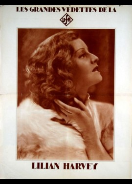 LILIAN HARVEY movie poster