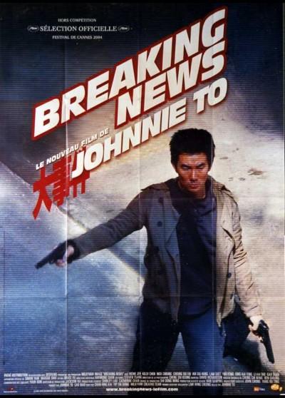 affiche du film BREAKING NEWS