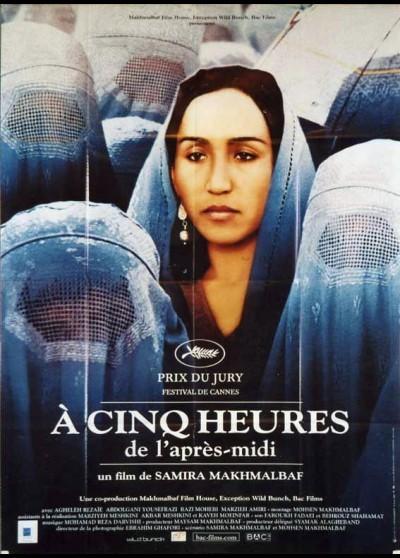 affiche du film A CINQ HEURES DE L'APRES MIDI