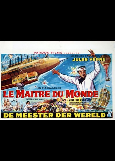 MASTER OF THE WORLD movie poster