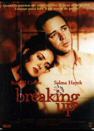 BREAKING UP movie poster