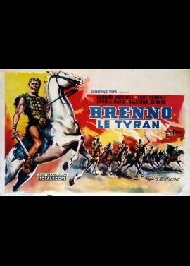 BRENNO IL NEMICO DI ROMA / BRENNUS ENEMY OF ROME movie poster