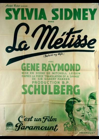affiche du film METISSE (LA)