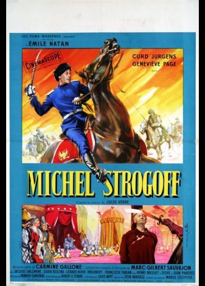 MICHEL STROGOFF movie poster