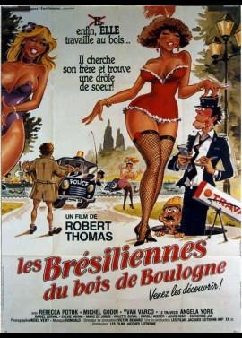 affiche du film BRESILIENNES DU BOIS DE BOULOGNE (LES)