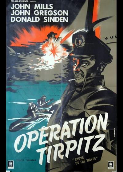 affiche du film OPERATION TIRPITZ