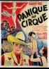 affiche du film PANIQUE AU CIRQUE