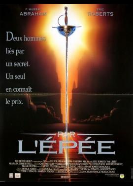 affiche du film PAR L'EPEE