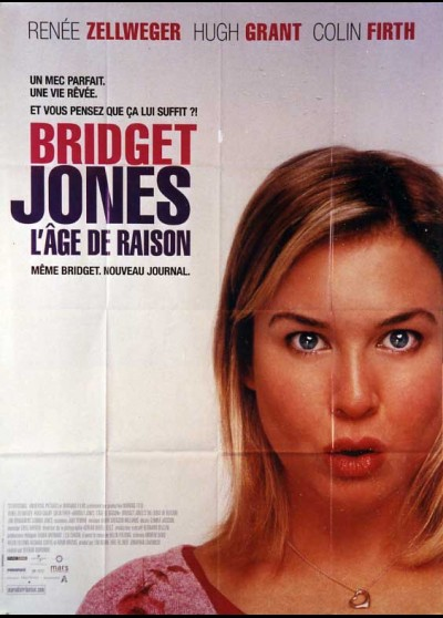 affiche du film BRIDGET JONES L'AGE DE RAISON