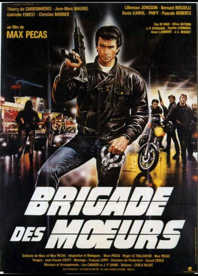 affiche du film BRIGADE DES MOEURS
