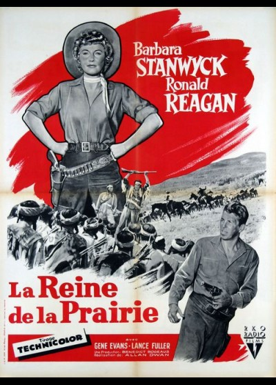 CATTLE QUEEN OF MONTANA movie poster