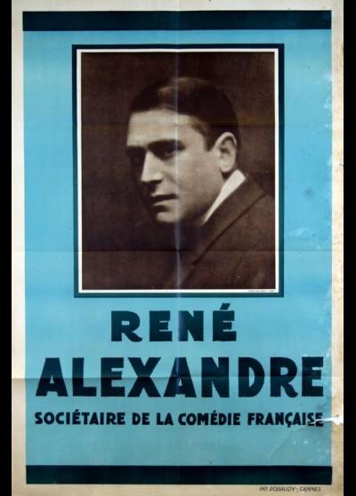 RENE ALEXANDRE SOCIETAIRE DE LA COMEDIE FRANCAISE movie poster