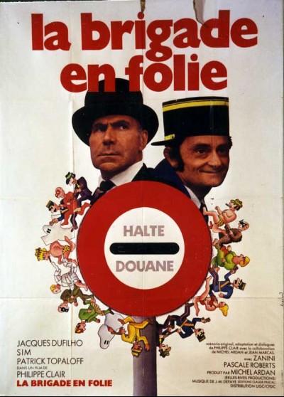 affiche du film BRIGADE EN FOLIE (LA)